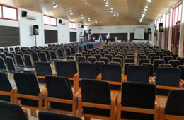 Photo of the inside of large Conference Room